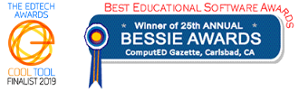 2019 EdTech Cool Tool Finalist and Winner of 25th Annual BESSIE AWARDS